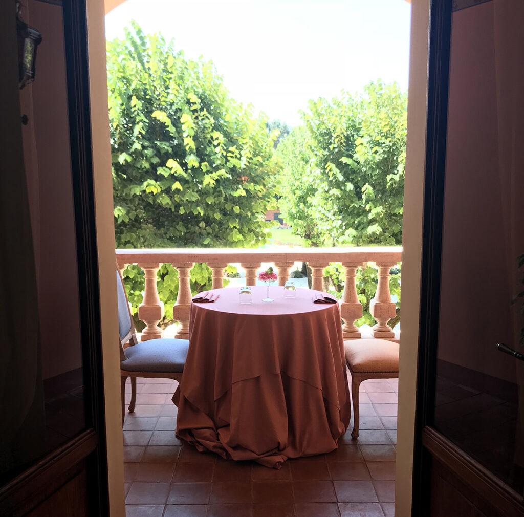 Cena in terrazza